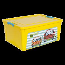 "Контейнер ""Smart-Box""з ДЕКОРОМ  7,9 л ""Алеана"""