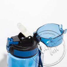 """Фото  товару Пляшка для пиття Aqua RIO """"Турція"""" TP-496 (750мл.)(кнопка; стійкий до подряпин) ш.к. (20шт.)"""