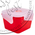 """Фото 2 товару Контейнер для харчових продуктів """"ФІЄСТА""""  (0,45л, КВАДРАТНИЙ з зажимом)  """"Аляна"""""""