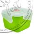 """Фото 2 товару Контейнер для харчових продуктів """"ФІЄСТА"""" (0,9л, КВАДРАТНИЙ з зажимом)  """"Аляна"""""""