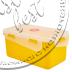 """Фото 3 товару Контейнер для харчових продуктів """"ФІЄСТА"""" (2,5л, ПРЯМОКУТНИЙ з зажимом) """"Аляна"""""""