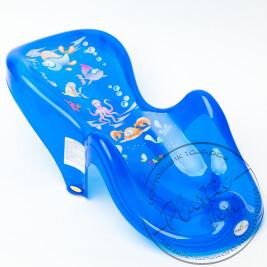 """Підставка-Гірка для купання АКВА """"Бальбіна"""" AQ-003 (Прозора) """"Бебі-Тега"""""""