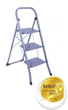 """Драбина 3 східці (30*20см.) (арт. 2103 метал) """"Тарлев"""""""