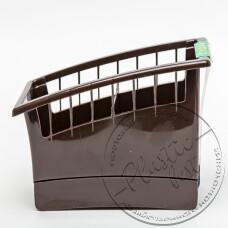 """Фото  товару Сушарка-підставка для вилок та ложок (прямокут.) """"Ламела"""".(""""пиньок"""")  арт.195"""