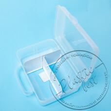 """Фото  товару Контейнер-ЛанчБокс CM-740 2л. (з двома перегородками) (16*23*7.5см.) """"Plast Art"""" """"Турція"""""""