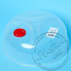 """Фото  товару Кришка """"D-250"""" (арт. 0010) для мікрохвильової печі (KR.001) (ш.к.0001) """"Евро голд"""""""