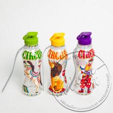 """Фото  товару Пляшка для пиття """"Турція"""" №CM-770 (750мл.) (дитяча з ремінцем) ш.к.0186 (Irak Plastik) (24шт.)"""