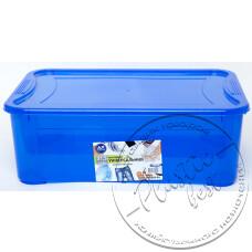 """Фото  товару Контейнер """"Easy Box""""  (31.5 л.)  (синій) (555*390*192мм.) """"Ал-пластік"""""""
