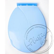 """Фото  товару Кришка для унітазу (пластмасова) (475*380мм.) """"Юніпласт"""" (10шт.)"""