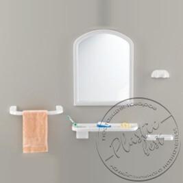 """Набір аксесуарів з дзеркалом  TP-2002  № Код 105  (ELENA)  (арка) """"Томбо"""""""