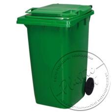 """Фото  товару Контейнер для сміття (НА КОЛЕСАХ)  """"Ал-пластік"""""""