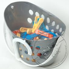 """Фото  товару Корзина з прищіпками (40 шт) з гачком """"ММ-пластмаса"""" BasPin"""