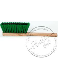 """Фото  товару А08-102  Щітка для змітання з ручкою (деревяна основа,мягка) (370*40) """"Пастерський"""""""