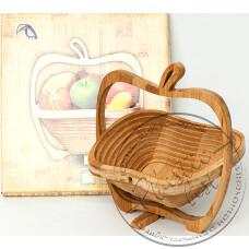 """Фото  товару Корзина для фруктів (мала, яблуко) """"Турція"""""""