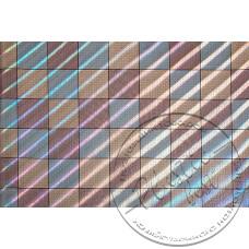 """Фото  товару 8152 С Клейонка в рулонах ПВХ на нетканій основі  (1.37 - 25 м) """"квадрати кольорові  """"Скатертина"""""""