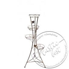 """Фото  товару Ковка Вежа з листочком 4 (W-005) (h.117 w.45) """"Ковка захід"""""""
