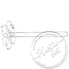 """Фото  товару Стійка на рушник кухонний Колба KOLKA №16 HT-TDO12  """"Хром"""""""