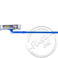 """Фото  товару Вікномий № EF-2519 (поворотна 25см + ручка телескоп () 70-100см.) (сіра) """"Китай"""""""