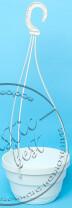 """Фото 1 товару Горшок ПІДВІСНИЙ   (d. 230 mm.) + гачок """"Ламела"""" арт.1520"""