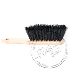 """Фото  товару А08-012  Щітка для змітання з ручкою (деревяна основа,мягка) """"Пастерський"""""""