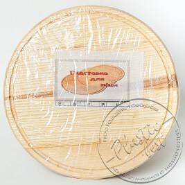 """Дошка для ПІЦИ  (31см) деревяна кругла """"Західна україна"""""""