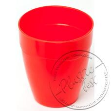 "Фото  товару Стакан -стопка (кольоровий, 150г) ""Пластмасова посуда"""