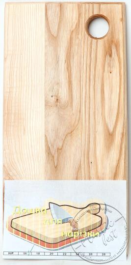 "Дошка кухонна (ПОЛОСАТА) (18см) деревяна ""Західна україна"""
