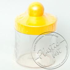 """Фото  товару Ємкість для сипучих продуктів 1 л """"ММ-пластмаса"""""""