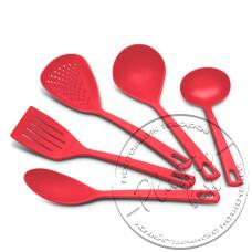 """Фото  товару Набір кухонний ( 5 предметів) Цвітний  J01825 """"STENSON"""""""