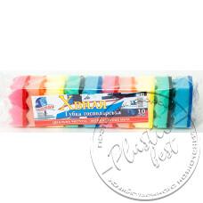 Фото  товару Мочалка для Посуду ( 10 шт в упаковці ) Хвиля