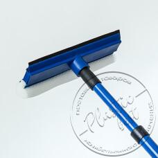 """Фото  товару Вікномий № 0012 / JF19513 (18см) + ручка телескопічна 80см. """"АМА"""""""