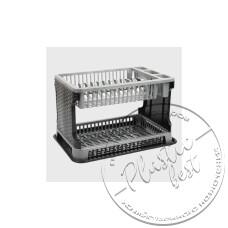 """Фото  товару Сушарка для посуду (2-х ярусна) """"Tuffex"""" TP-7071 """"ротанг"""" """"Турція"""""""